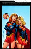Caitlin Fairchild and Supergirl: 1