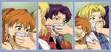 Evangelion Girls Captured - LoZ: 1