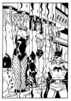 DC Heroines in Glass Tubes (Monsieur Paul)