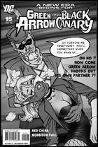 Green Arrow Chloroforms Black Canary