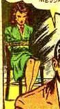 Nyoka the Jungle Girl #4  2nd story, Nyoka tied up: 1