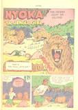 NYOKA The Jungle Girl #15 KO's, peril and bondage: 1