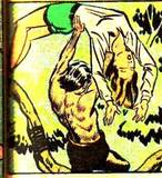 Nyoka #7 (2nd story) head KO, arm/ots carry, fall: 1