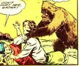 Nyoka in Jungle Girl #1 many, many perils . . .: 1