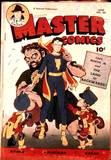 Nyoka in Master Comics #80 grabbed, tied up: 1