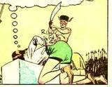 Nyoka #8 head KO, bondage, arm carry, manhandled: 1