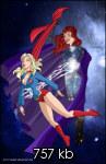 Supergirl unconscious commision: 1