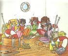 Le Tea Sisters (French) - Mousettes Peril: 1