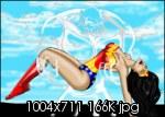 Unconscious Wonder Woman Arm Carry - Fan Art