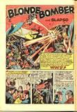 Blonde Bomber in Green Hornet Comics #21 KO, bound