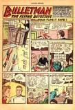 Bulletgirl in Master Comics #77 KO, tied up, gag