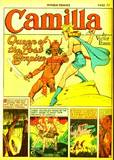 Camilla in Jungle Comics #17 KO, out cold, carry