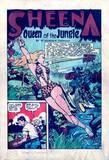 Sheena in Jumbo #87 head KO, falling, peril