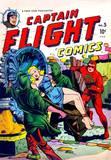 Captain Flight #5 girl on cover