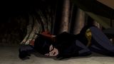 Young Justice: Invasion (ep. Beneath) - Batgirl down and out: 1