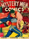 Classic Comics covers - Mystery Men, Strange, Wonder World, etc.