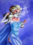Frozen Chloroform Original Art